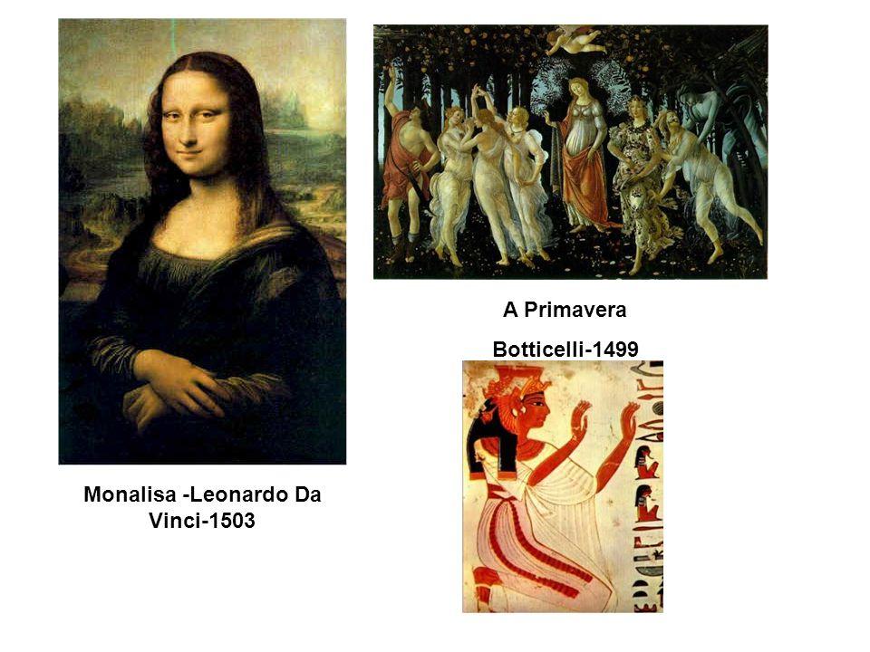 Monalisa -Leonardo Da Vinci-1503