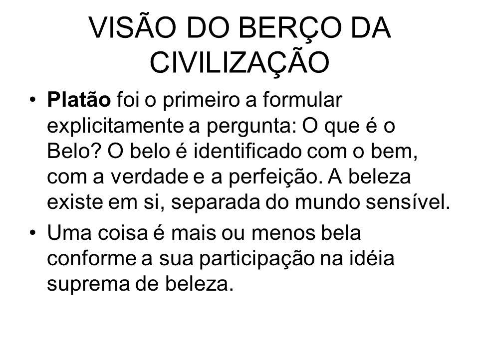 VISÃO DO BERÇO DA CIVILIZAÇÃO