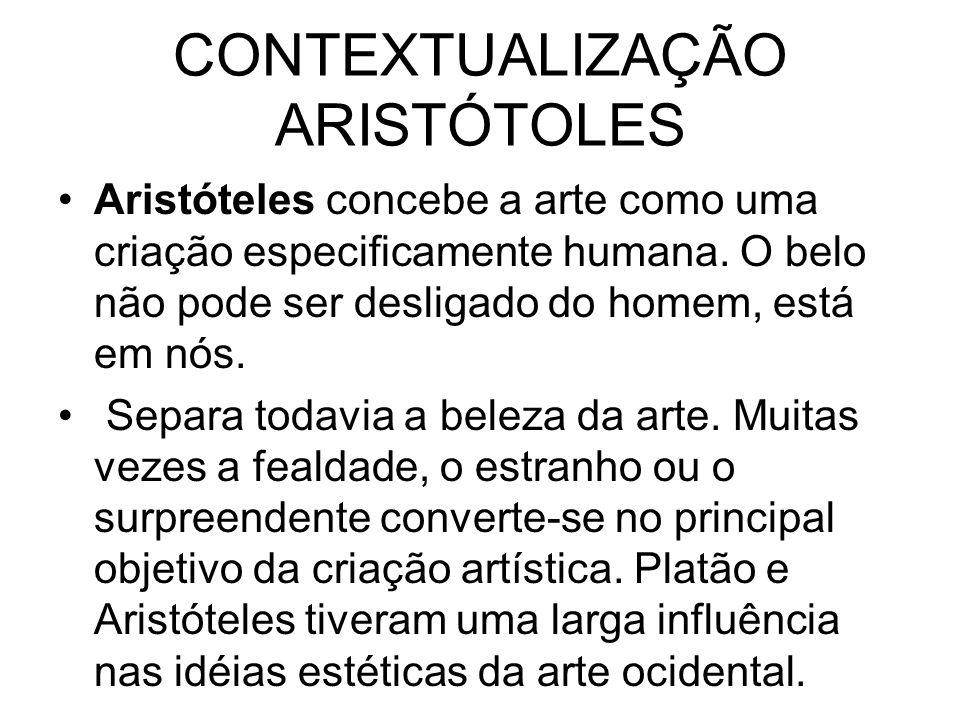 CONTEXTUALIZAÇÃO ARISTÓTOLES