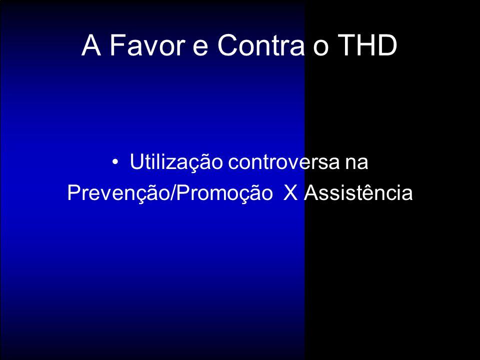 A Favor e Contra o THD Utilização controversa na