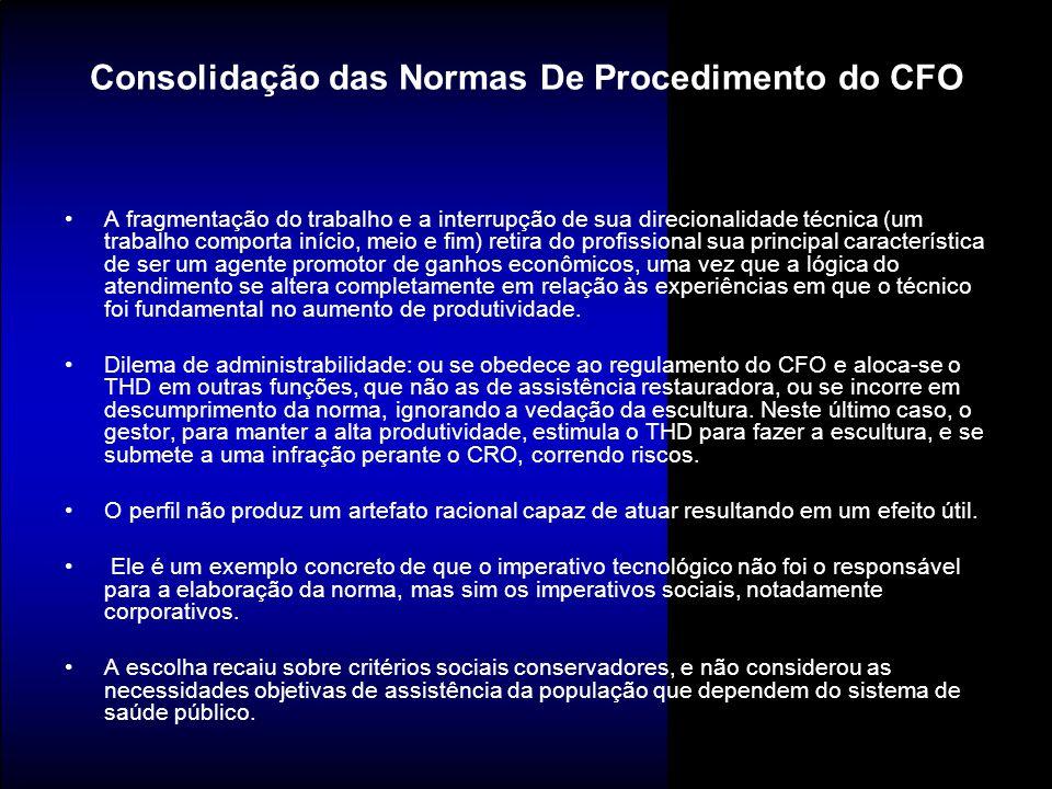 Consolidação das Normas De Procedimento do CFO
