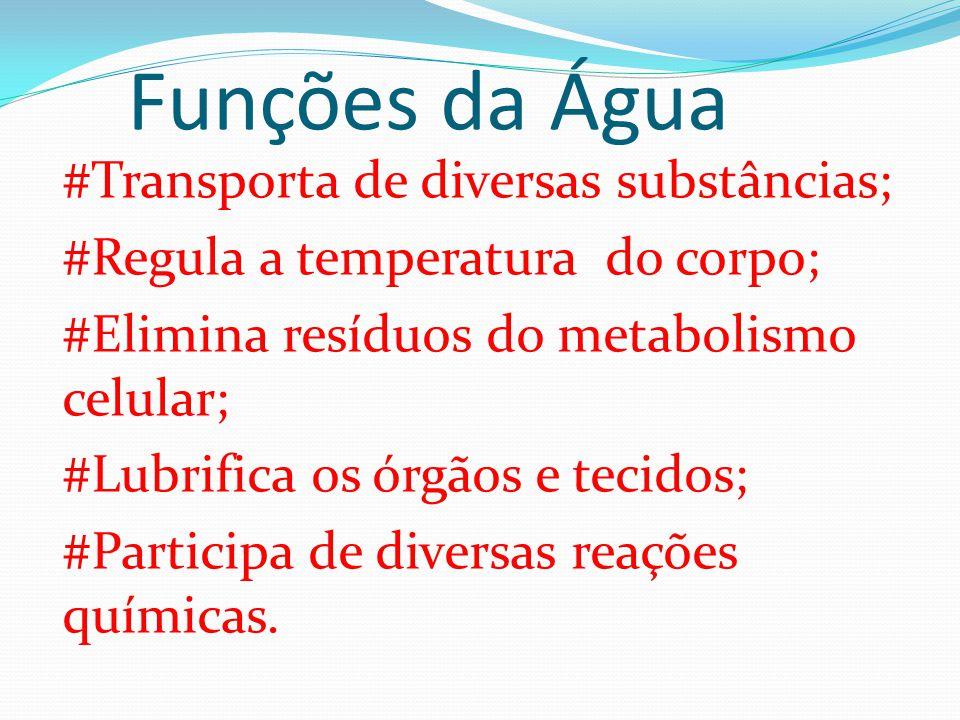 Funções da Água