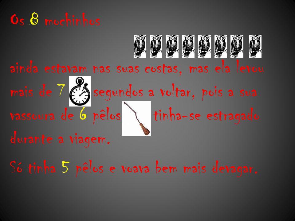 Os 8 mochinhos