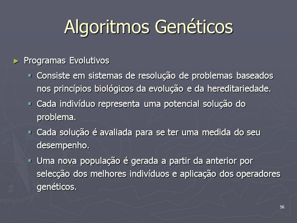 Algoritmos Genéticos Programas Evolutivos