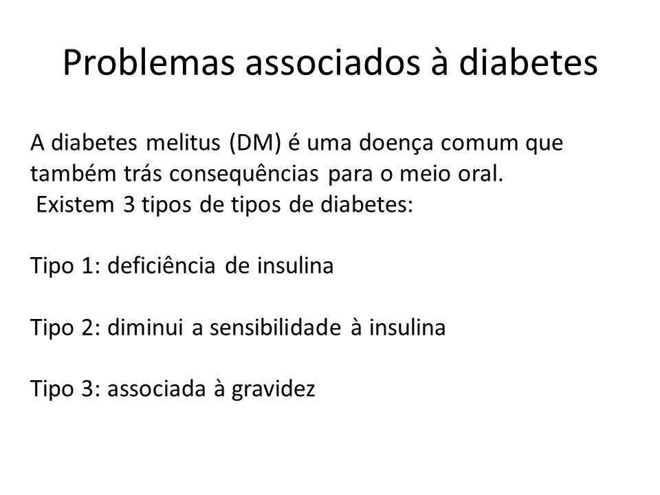 Problemas associados à diabetes