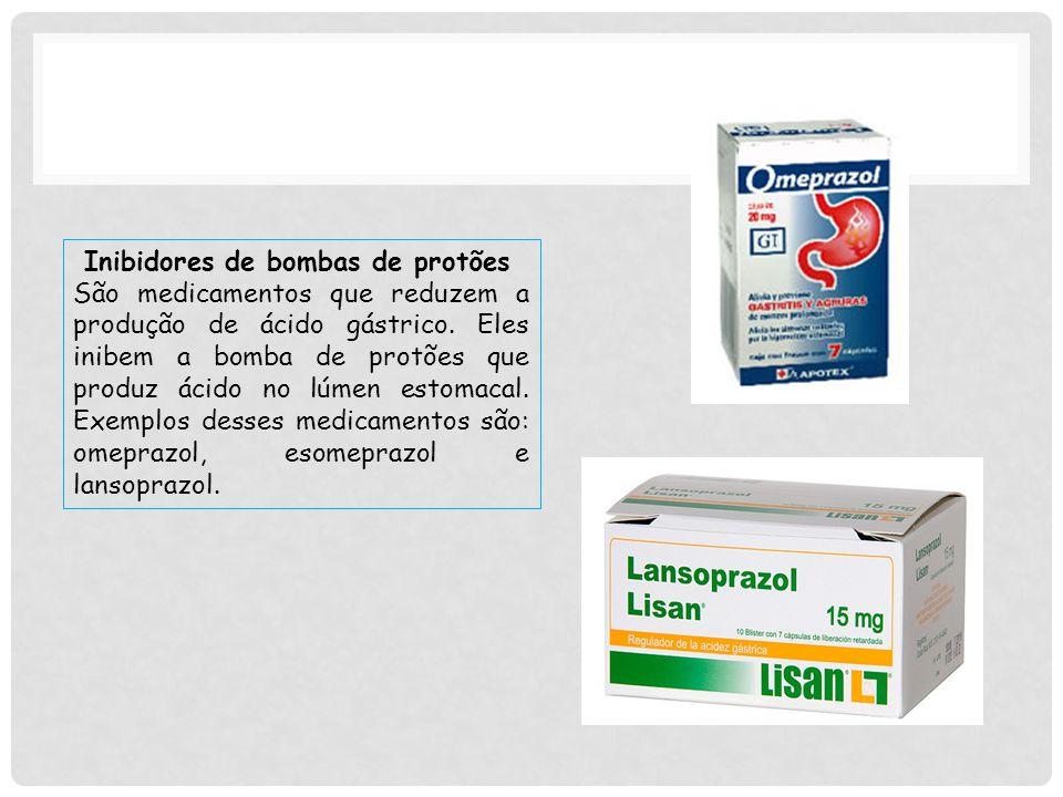 Inibidores de bombas de protões