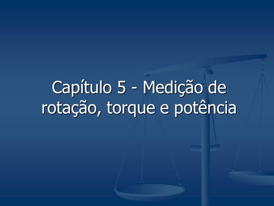 Capítulo 5 - Medição de rotação, torque e potência