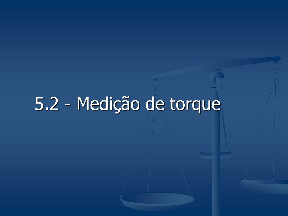 5.2 - Medição de torque