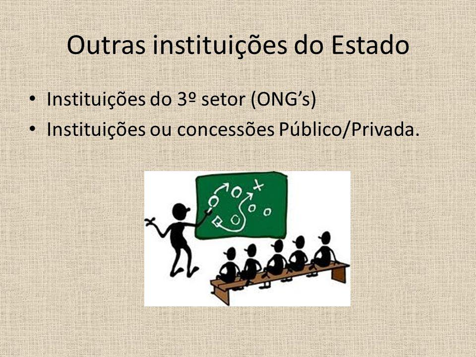 Outras instituições do Estado