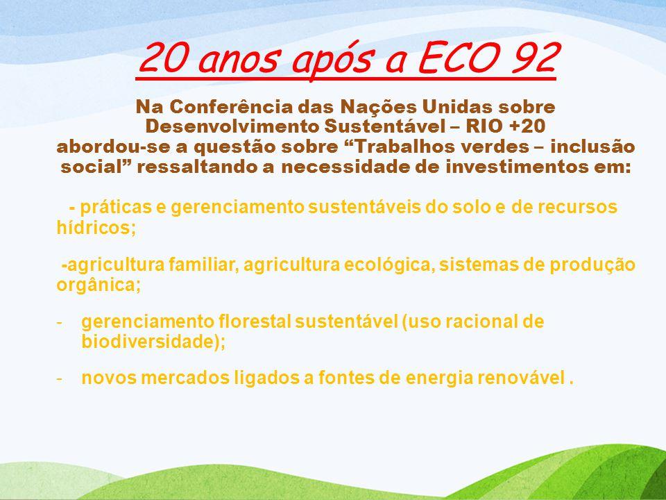 20 anos após a ECO 92
