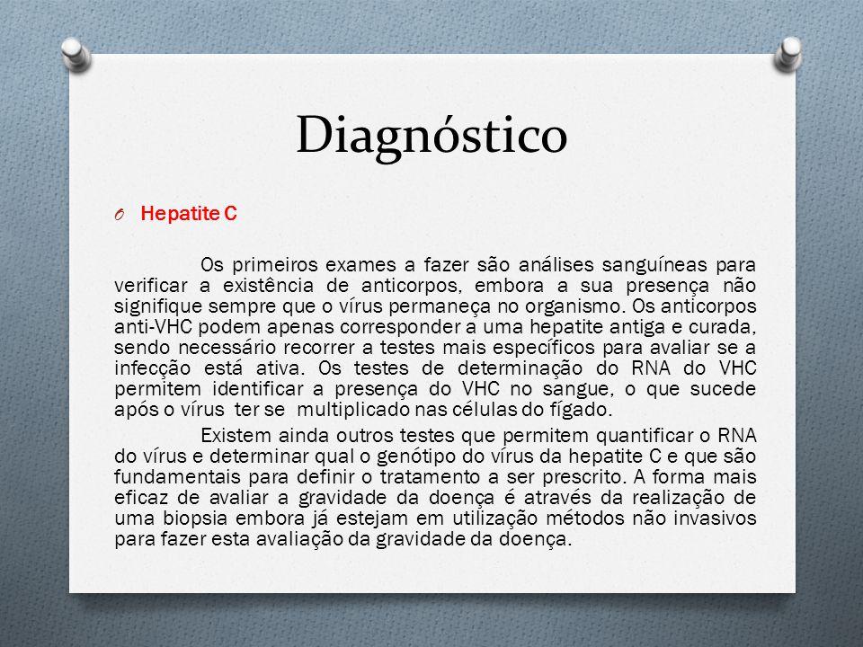 Diagnóstico Hepatite C