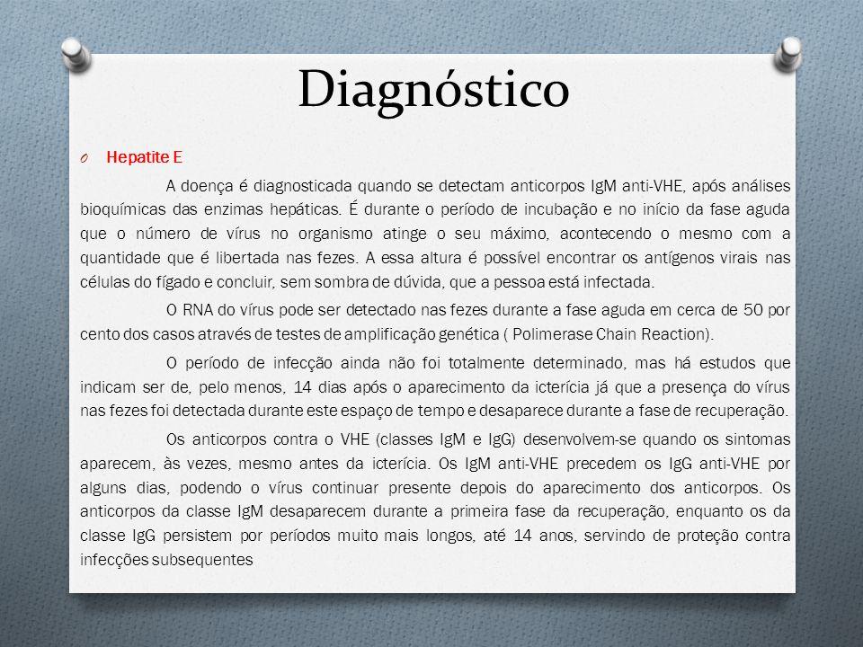 Diagnóstico Hepatite E