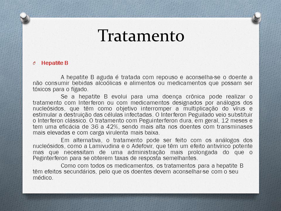 Tratamento Hepatite B.