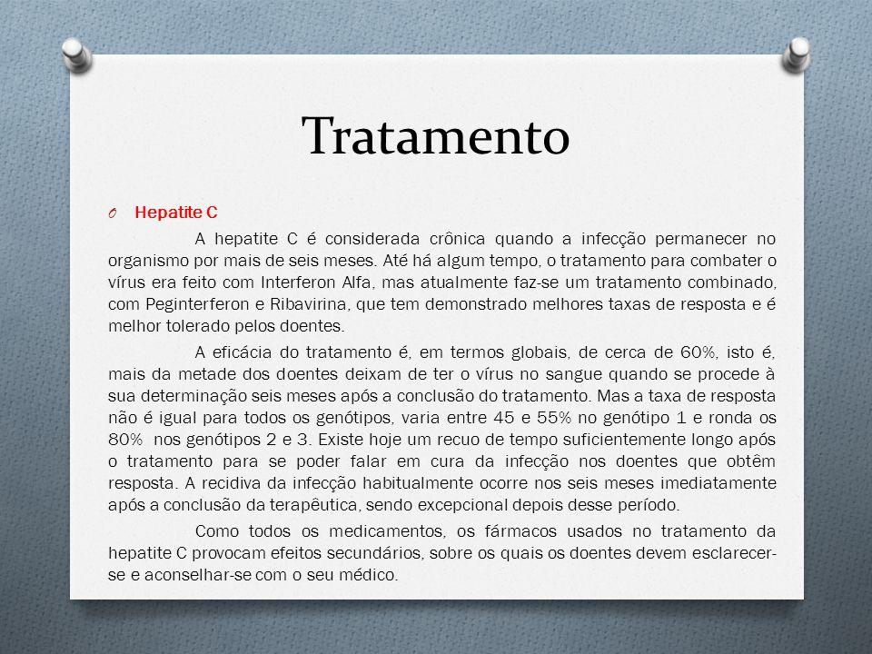 Tratamento Hepatite C.