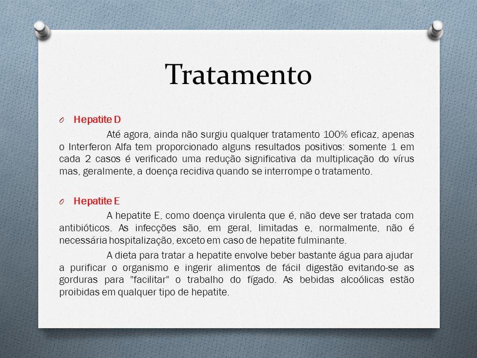 Tratamento Hepatite D.