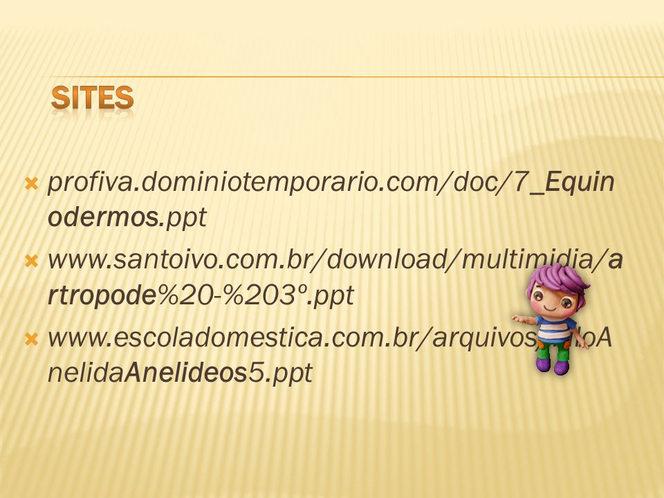 sites profiva.dominiotemporario.com/doc/7_Equinodermos.ppt