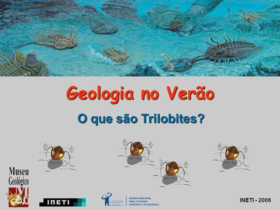 Geologia no Verão O que são Trilobites INETI - 2006