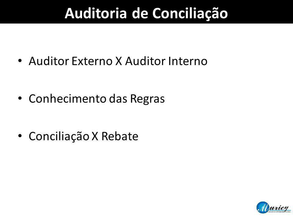 Auditoria de Conciliação