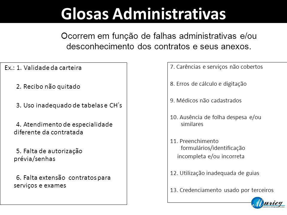 Glosas Administrativas