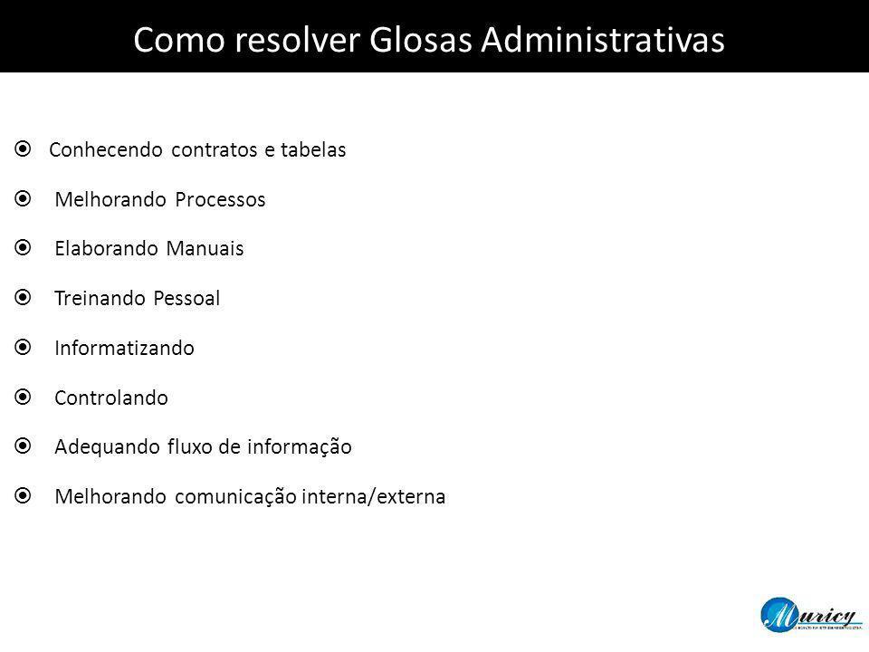 Como resolver Glosas Administrativas