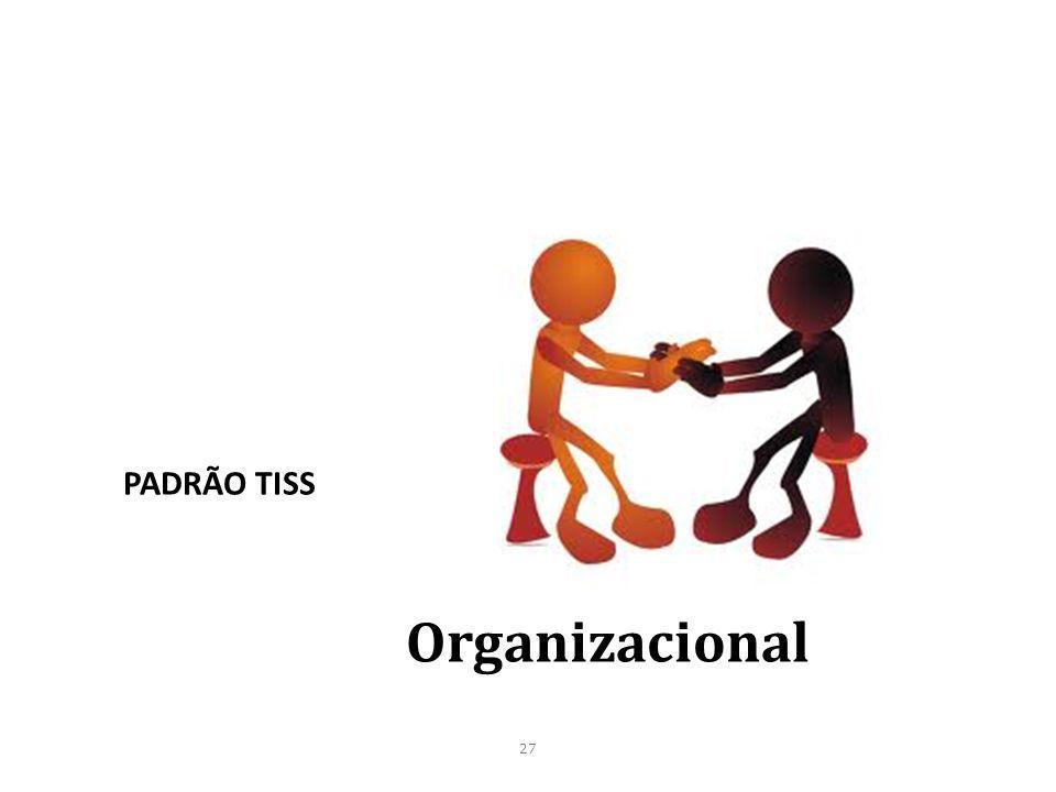 PADRÃO TISS Organizacional 27