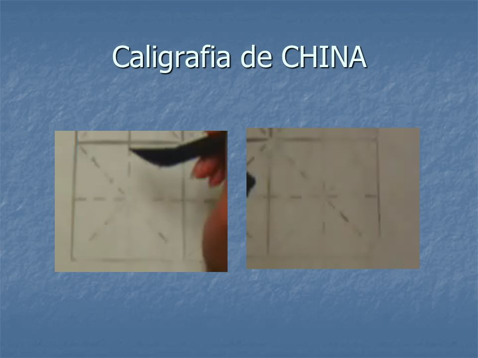 Caligrafia de CHINA