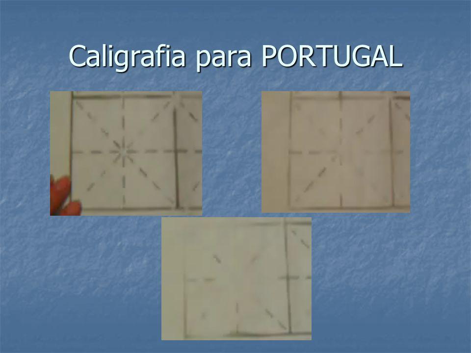 Caligrafia para PORTUGAL