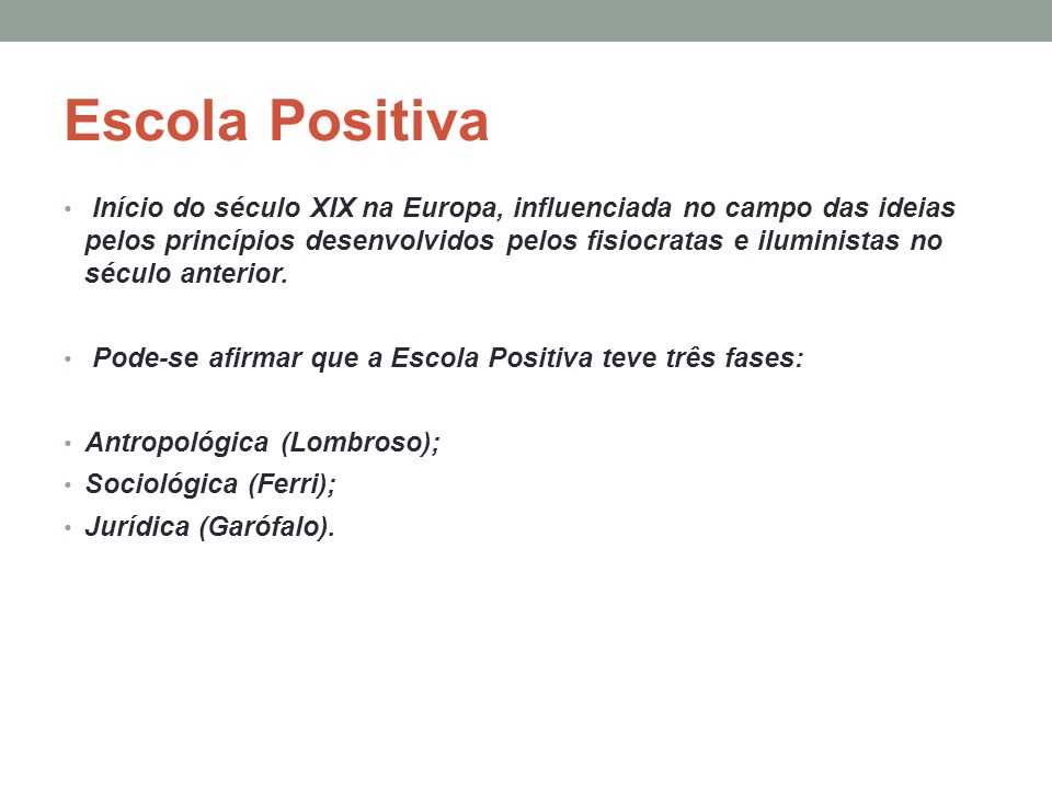 Escola Positiva