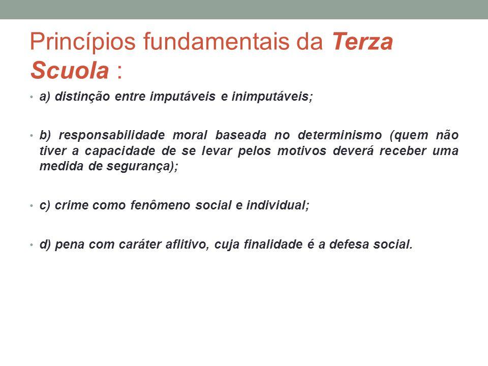 Princípios fundamentais da Terza Scuola :