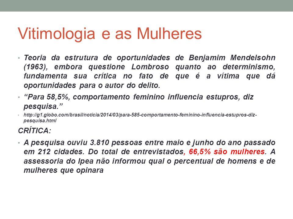 Vitimologia e as Mulheres