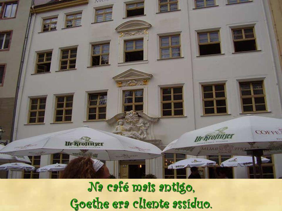 Goethe era cliente assíduo.