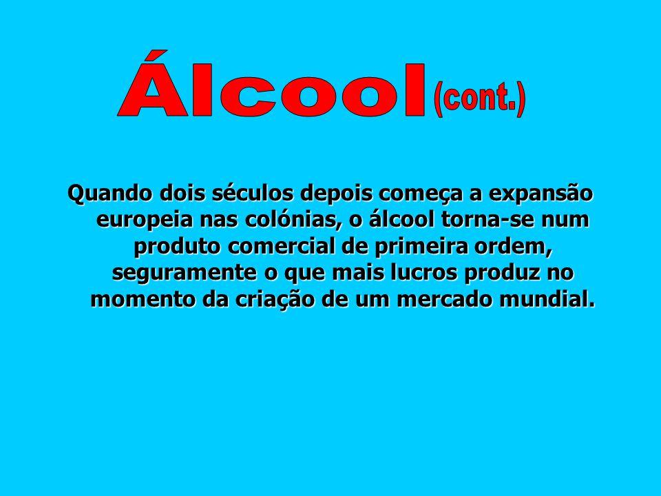 Álcool (cont.)
