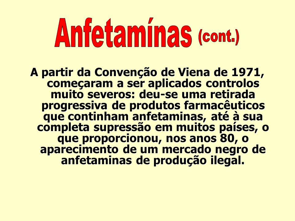 Anfetamínas (cont.)