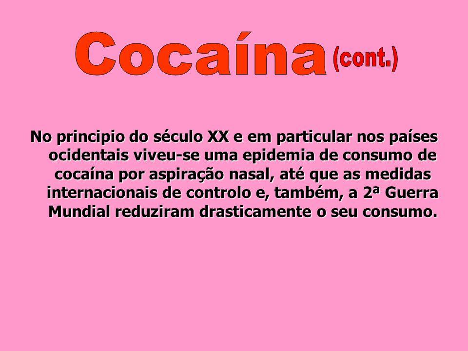 Cocaína (cont.)