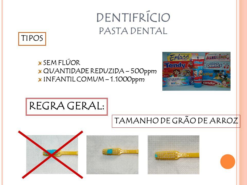 DENTIFRÍCIO PASTA DENTAL