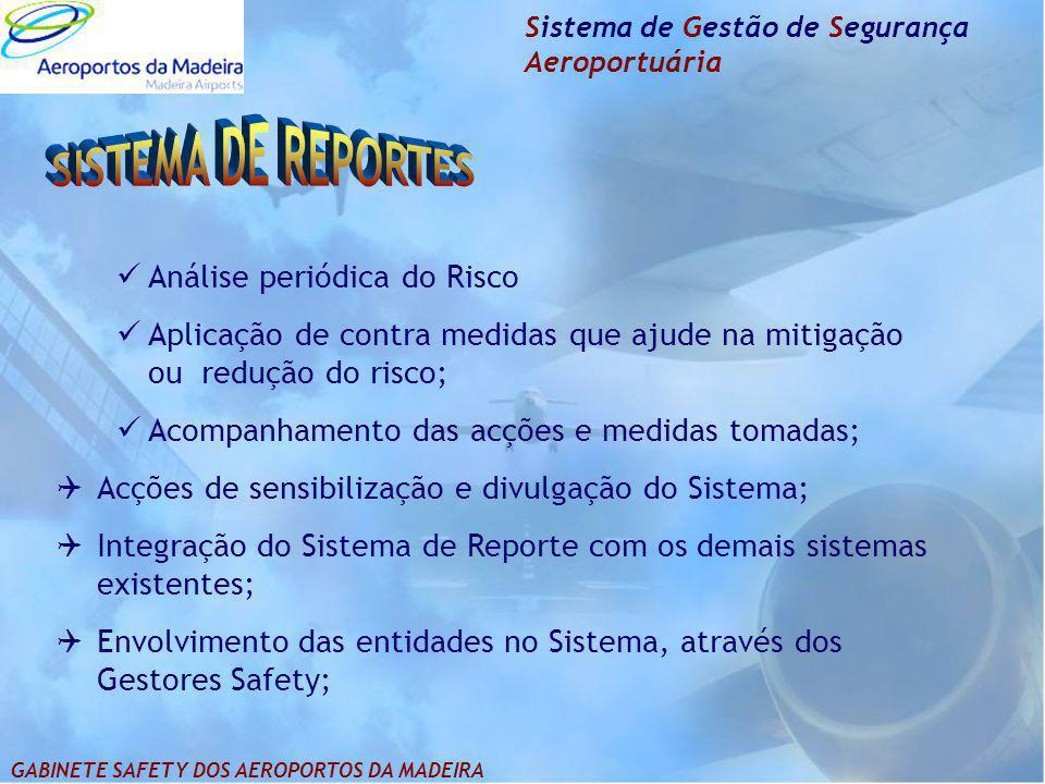 SISTEMA DE REPORTES Análise periódica do Risco