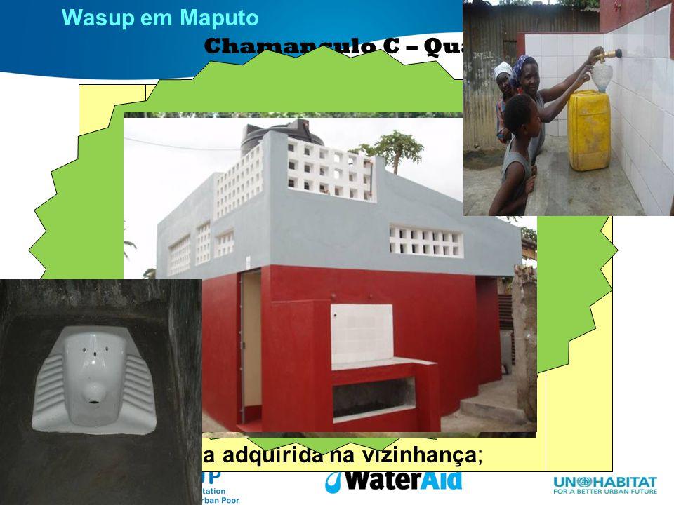 Wasup em Maputo Situação actual
