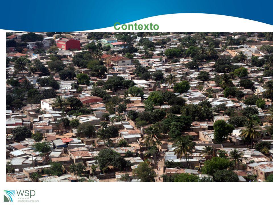 Contexto Perto 80% da população urbana reside nas áreas peri-urbanas