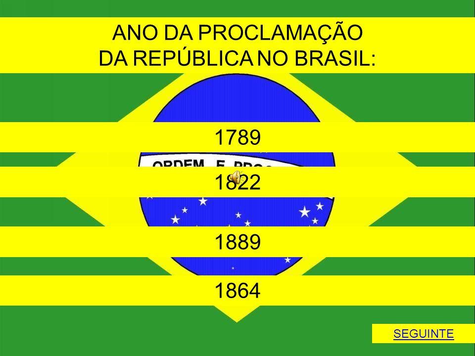 DA REPÚBLICA NO BRASIL: