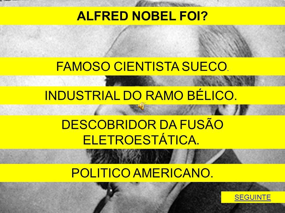 FAMOSO CIENTISTA SUECO.
