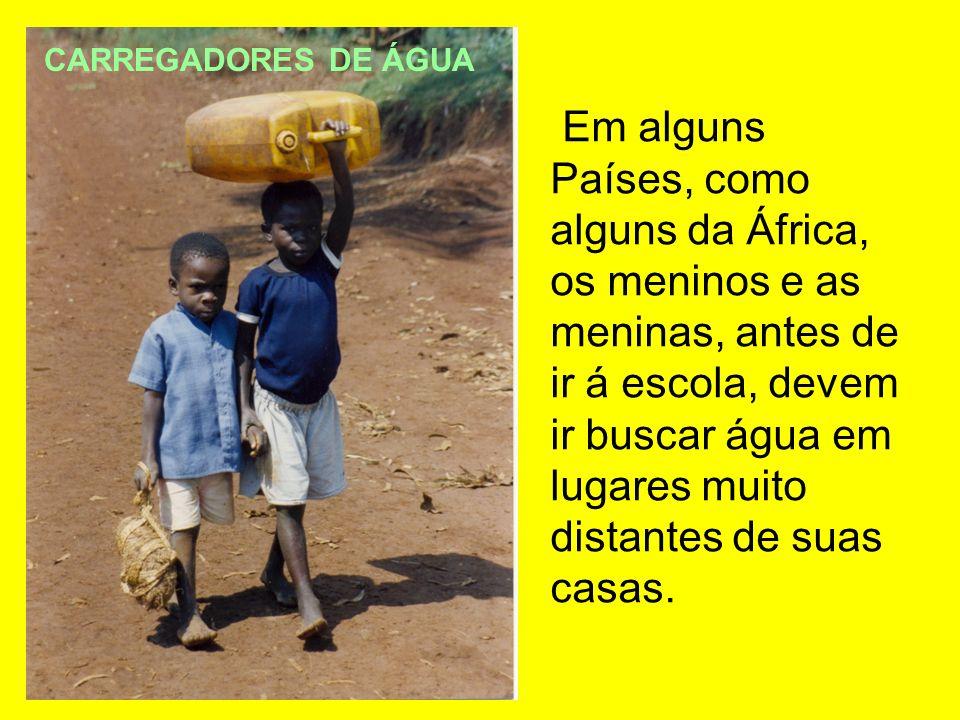 CARREGADORES DE ÁGUA