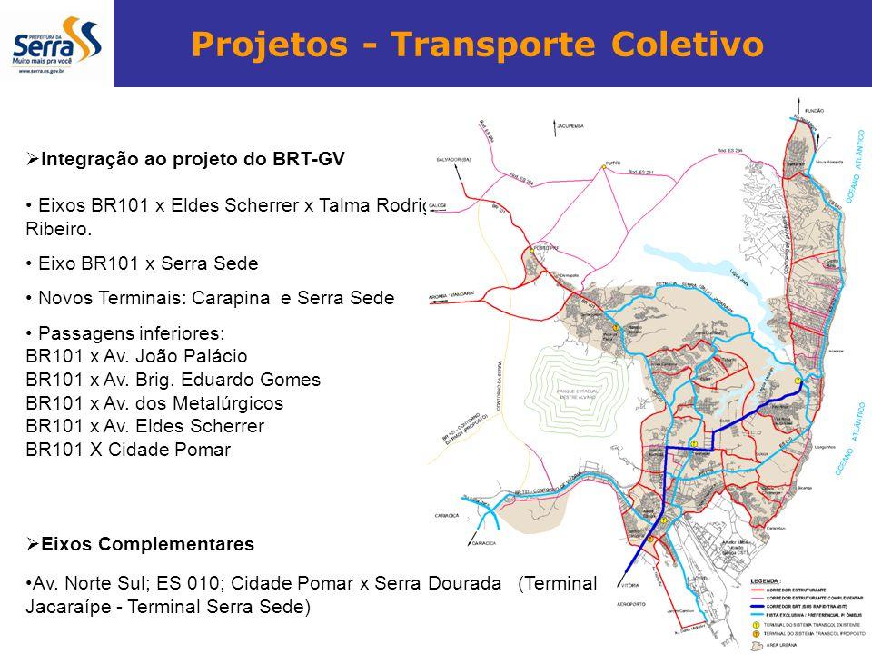 Projetos - Transporte Coletivo