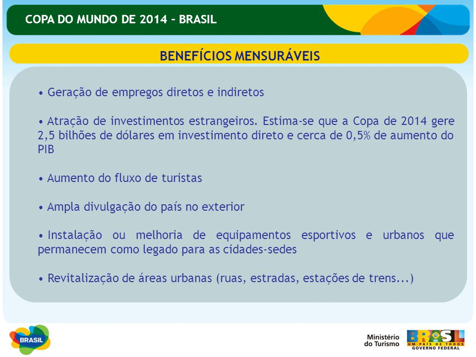 BENEFÍCIOS MENSURÁVEIS