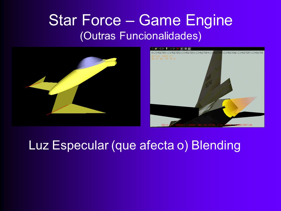Star Force – Game Engine (Outras Funcionalidades)