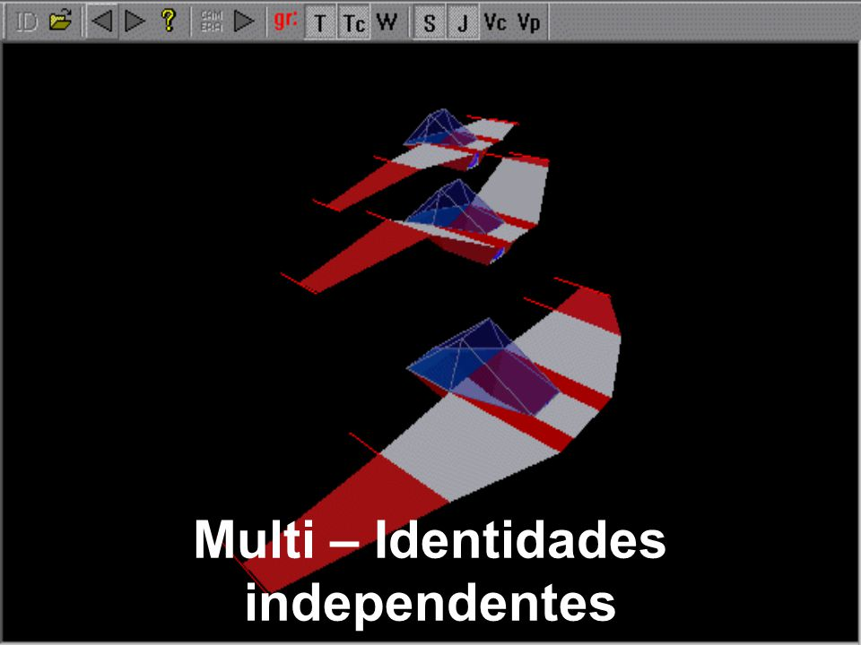 Multi – Identidades independentes