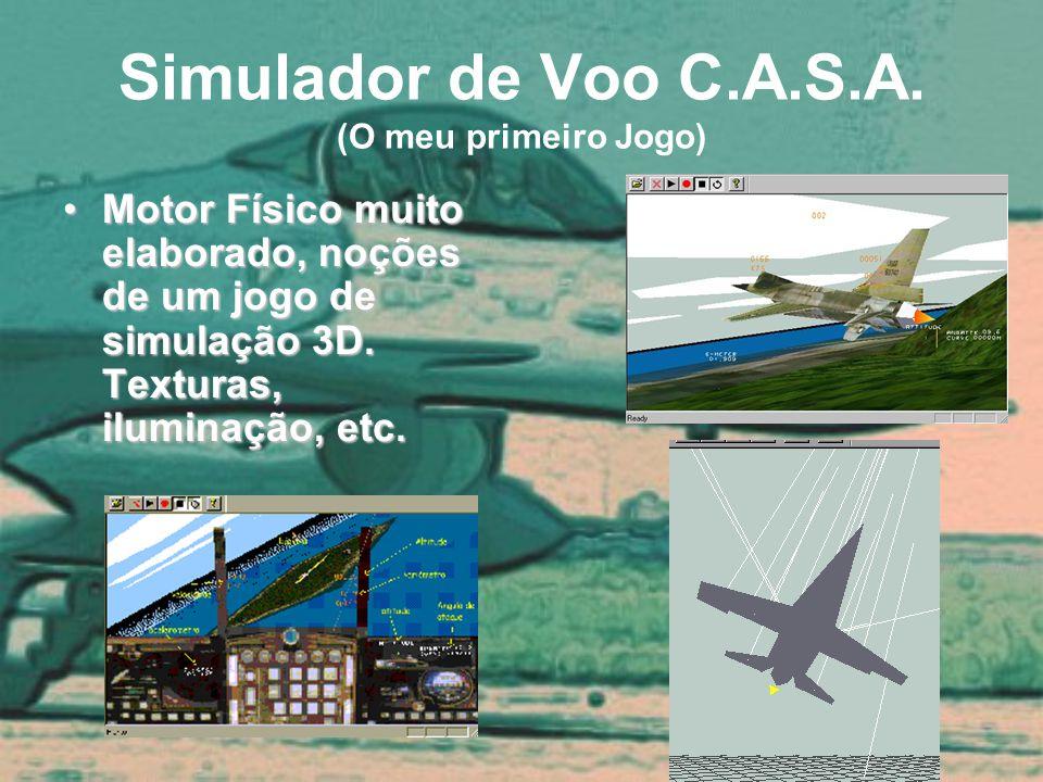 Simulador de Voo C.A.S.A. (O meu primeiro Jogo)