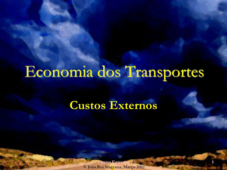 Economia dos Transportes