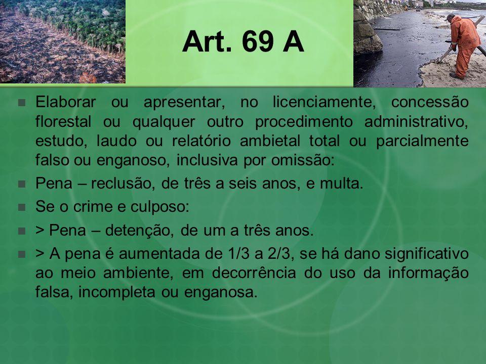Art. 69 A