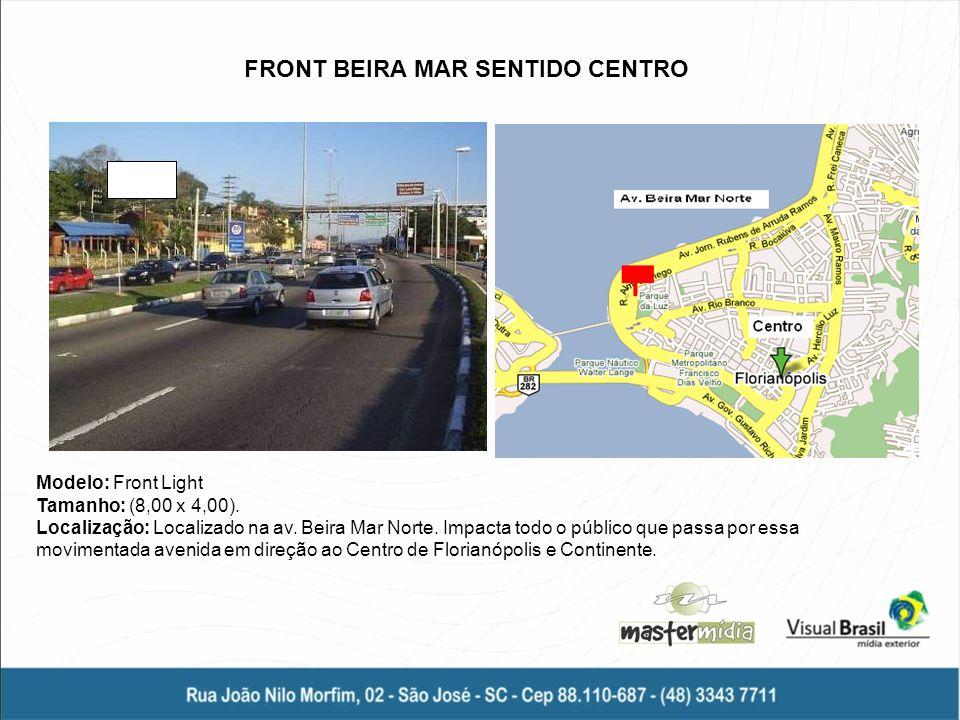 FRONT BEIRA MAR SENTIDO CENTRO
