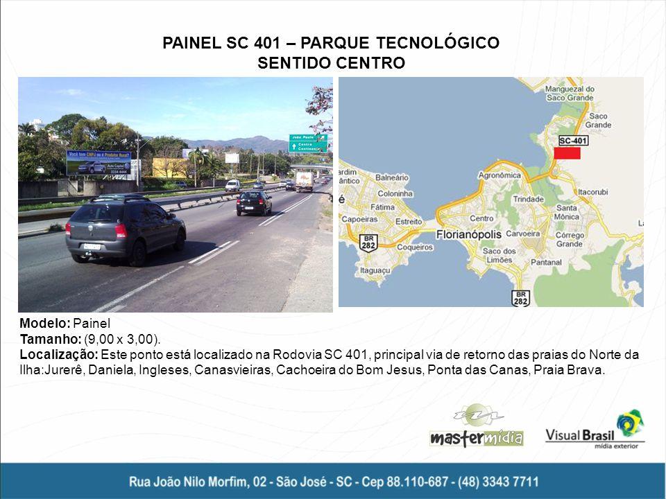 PAINEL SC 401 – PARQUE TECNOLÓGICO